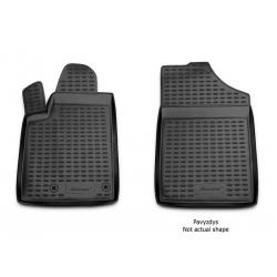 Guminiai kilimėliai FORD Tourneo Custom (1+2 vietų) 2013→ (pakeltais kraštais)