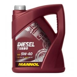 Tepalas MANNOL DIESEL TURBO 5W-40, 5L