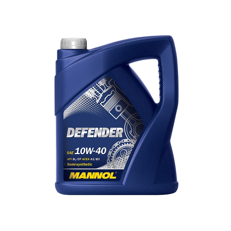 Tepalas MANNOL DEFENDER 10W-40, 5L