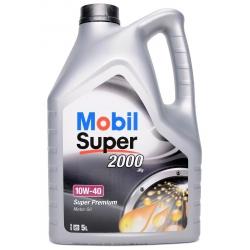 Variklio tepalas | alyva MOBIL Super 2000 X1 10W-40, 5L
