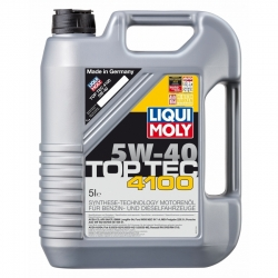 Tepalas LIQUI MOLY TOP TEC 4100 5W40, 5L