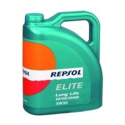 Tepalas REPSOL ELITE LONG LIFE 50700/50400 5W30, 5L