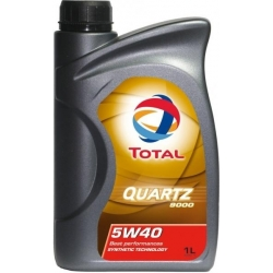Tepalas TOTAL QUARTZ 9000 5W-40, 1L