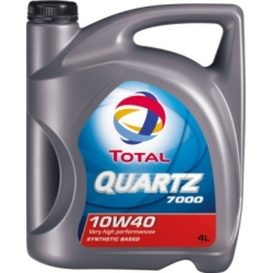 Tepalas TOTAL QUARTZ 7000 10W-40, 4L