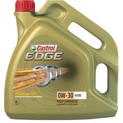 Tepalas CASTROL EDGE TITANIUM FST A5/B5 0W-30, 4L