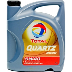 Tepalas TOTAL QUARTZ 9000 5W-40, 5L