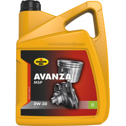 Tepalas KROON OIL AVANZA MSP 0W-30, 5L