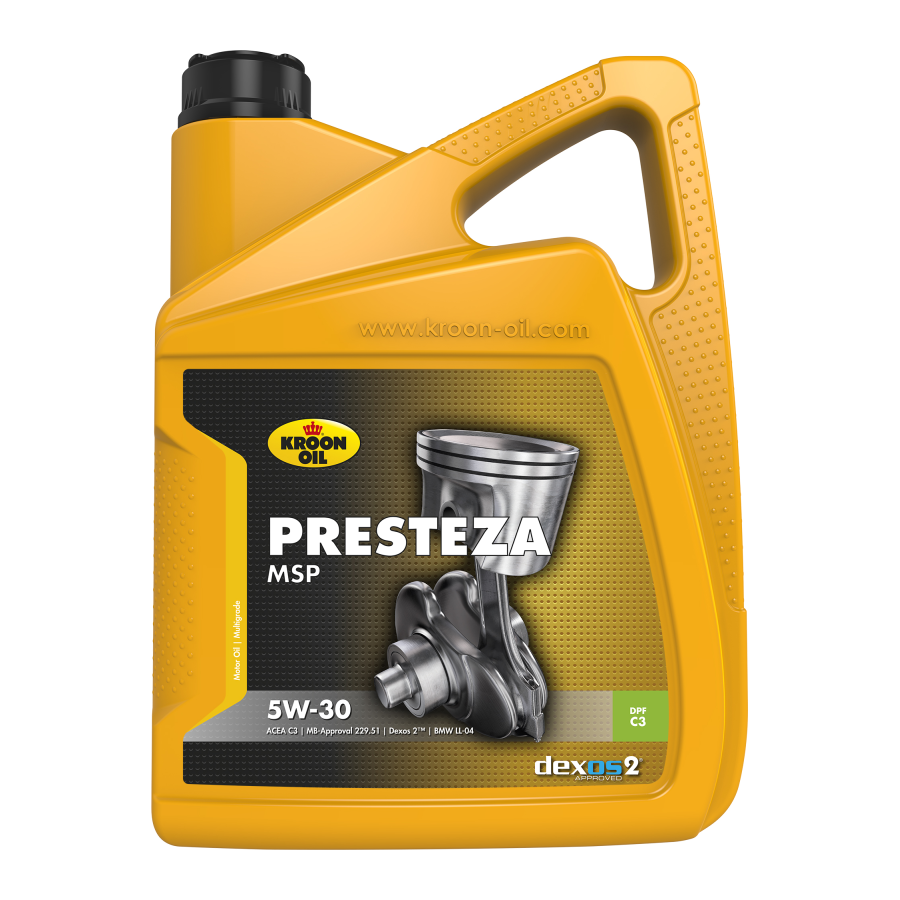 Tepalas KROON OIL PRESTEZA MSP 5W-30, 5L