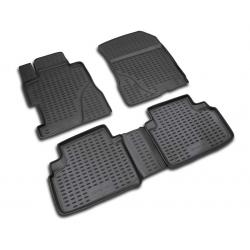 Guminiai kilimėliai HONDA Civic Sedan (4 durų) 2006-2011 (pakeltais kraštais)