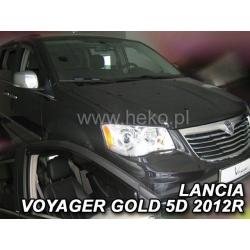Vėjo deflektoriai CHRYSLER VOYAGER GOLD 5 durų 2012→ (Priekinėms durims)