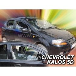 Vėjo deflektoriai CHEVROLET KALOS 5 durų Hatchback 2004-2008 (Priekinėms durims)