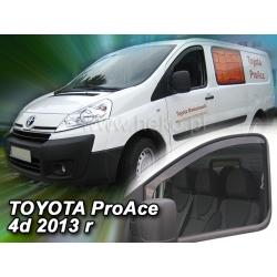 Vėjo deflektoriai TOYOTA ProAce 4 durų 2013-2016 (Priekinėms durims)