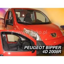 Vėjo deflektoriai PEUGEOT BIPPER 4/5 durų 2007→ (Priekinėms durims)