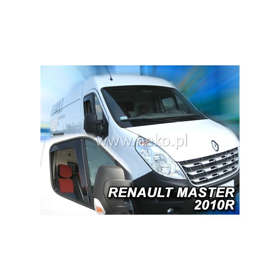 Vėjo deflektoriai RENAULT MASTER 2010→ (Priekinėms durims)