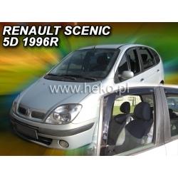 Vėjo deflektoriai RENAULT SCENIC 5 durų 1996-2003 (Priekinėms durims)
