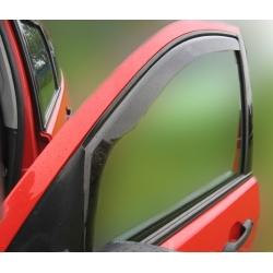 Vėjo deflektoriai SKODA FABIA II 5 durų Hatchback 2007-2015 (Priekinėms ir galinėms durims)