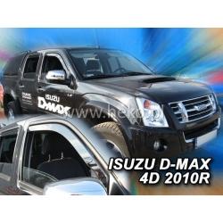 Vėjo deflektoriai ISUZU D-MAX 4 durų 2006-2012 (Priekinėms durims)