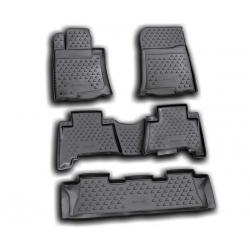 Guminiai kilimėliai LEXUS GX460 2009-2013 (pakeltais kraštais)