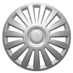 Ratų gaubtai R14 sidabriniai LUXURY