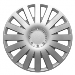 Ratų gaubtai R13 sidabriniai SMART