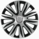 Ratų gaubtai R15 ARGO NARDO Silver&Black