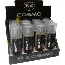 Purškiamų kvapų automobiliui rinkinys K2 COSMO