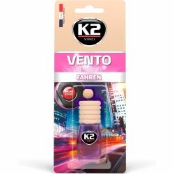 Pakabinamas oro gaiviklis K2 VENTO FAHREN, 8 ml