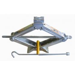 Domkratas mechaninis trapecinis, keliamoji galia iki 2 tonų
