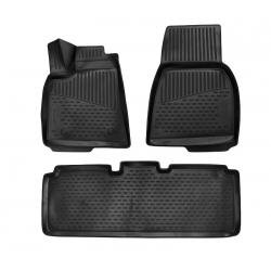 Guminiai kilimėliai TESLA Model S (Europe) 2012→ (pakeltais kraštais)