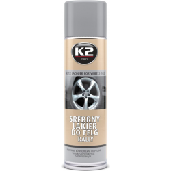Ratlankių dažai K2 500ml (sidabriniai)