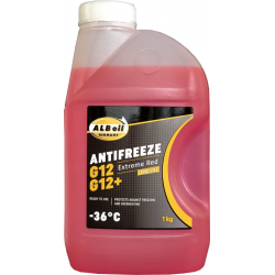 Antifrizas ALBoil G12/G12+ EXTREME RED LONG LIFE -36ºC, 1kg