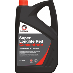 Antifrizo koncentratas COMMA Super Longlife Red, 5L