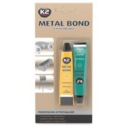 Epoksidiniai metalo klijai K2 METAL BOND 56,7 g