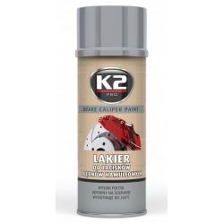 Stabdžių suportų dažai K2 BRAKE CALIPER PAINT 400ml (sidabriniai)