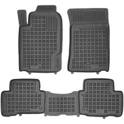 Guminiai kilimėliai SSANGYONG Rexton W 2012→ (Paaukštintais kraštais)