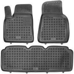 Guminiai kilimėliai TESLA Model S 2012→ (Paaukštintais kraštais)