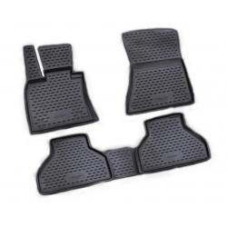 Guminiai kilimėliai BMW X5 (E70) 2007-2013 (pakeltais kraštais)