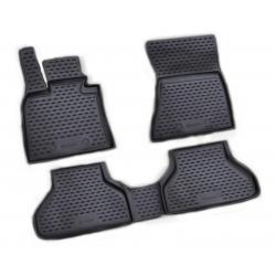 Guminiai kilimėliai BMW X6 (E71) 2008-2014 (pakeltais kraštais)