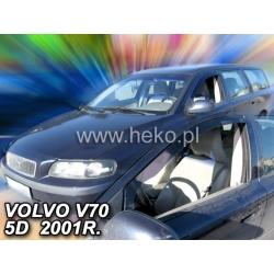 Vėjo deflektoriai VOLVO V70 5 durų Combi 2000-2007 (Priekinėms durims)
