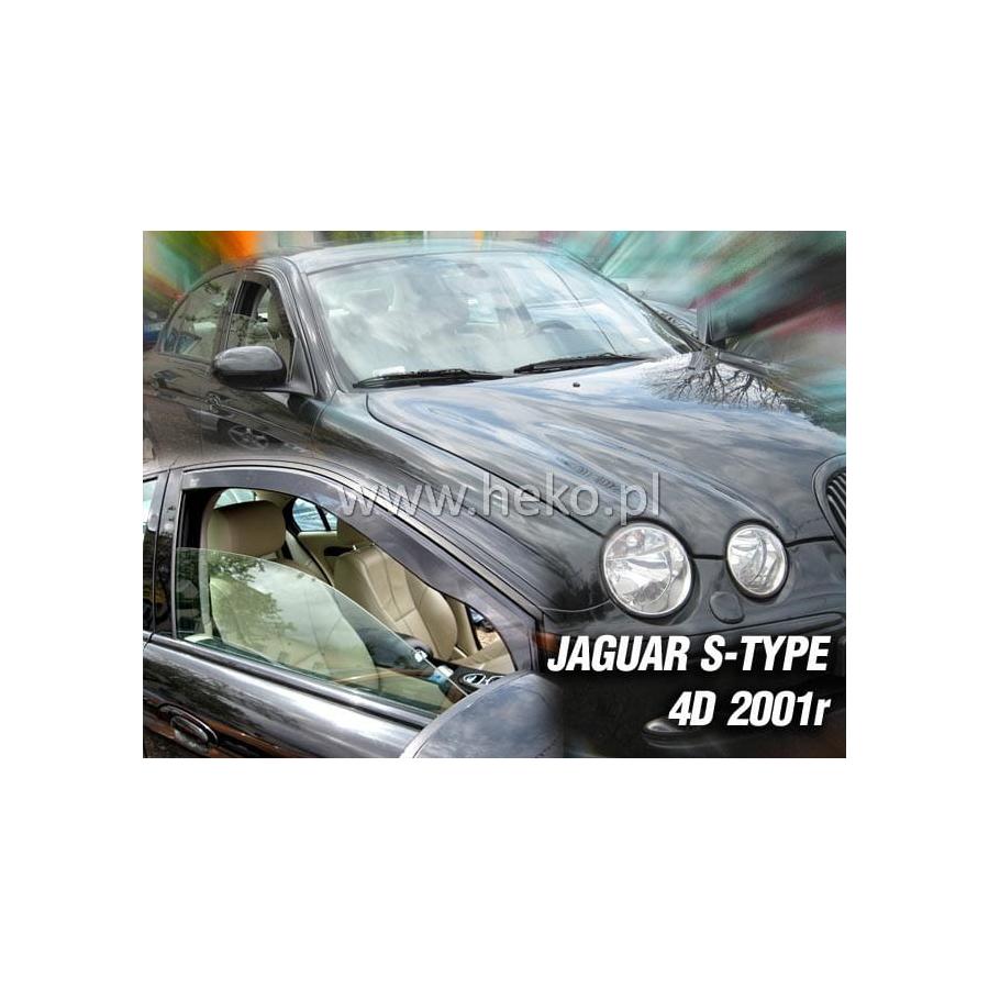 Vėjo deflektoriai JAGUAR S-TYPE 4 durų 2001-2009 (Priekinėms durims)
