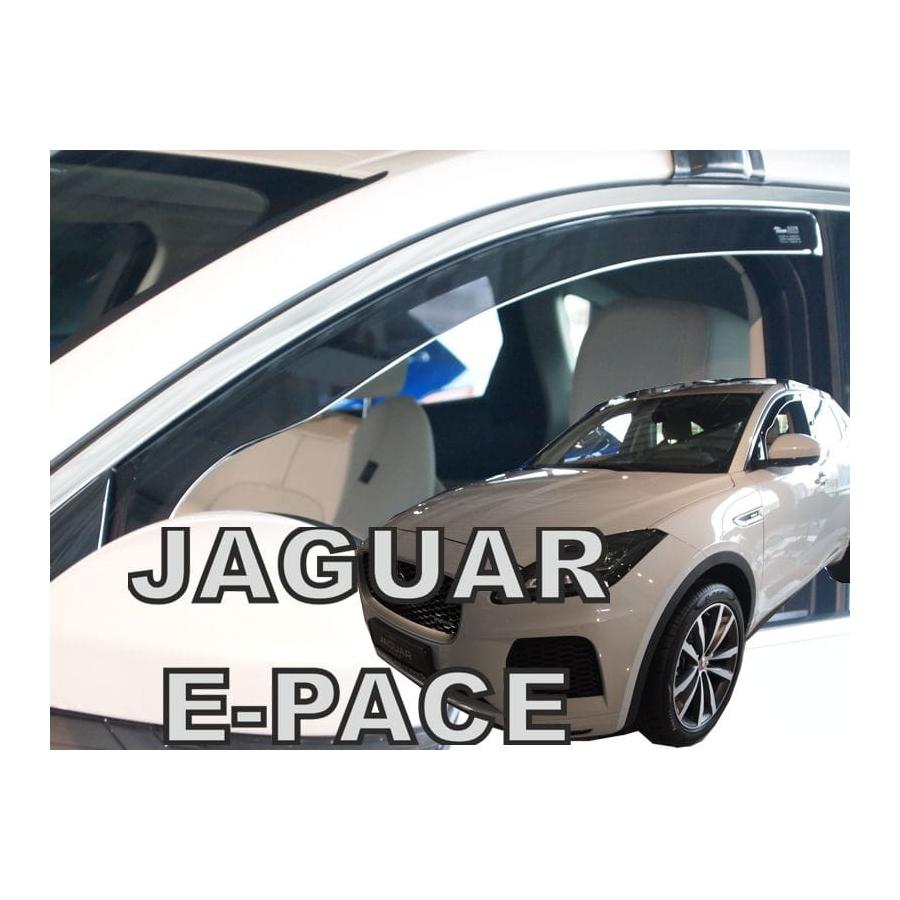 Vėjo deflektoriai JAGUAR E-Pace 2018→ (Priekinėms durims)