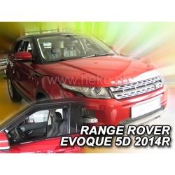 Vėjo deflektoriai LAND ROVER Range Rover Evoque 5 durų 2011→ (Priekinėms durims)