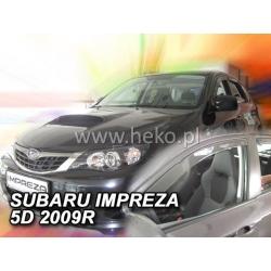 Vėjo deflektoriai SUBARU IMPREZA GH 5 durų 2008-2012 (Priekinėms durims)