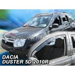 Vėjo deflektoriai DACIA DUSTER 5 durų 2010-2018 (Priekinėms durims)