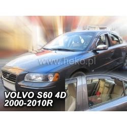 Vėjo deflektoriai VOLVO S60 4 durų 2000-2010 (Priekinėms ir galinėms durims)