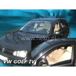 Vėjo deflektoriai VOLKSWAGEN GOLF IV 5 durų 1997-2004 (Priekinėms durims)
