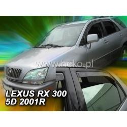 Vėjo deflektoriai LEXUS RX300 (USA vers.) 5 durų 1998-2003 (Priekinėms ir galinėms durims)