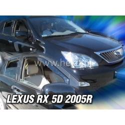 Vėjo deflektoriai LEXUS RX (XU30) 2003-2008 (Priekinėms durims)