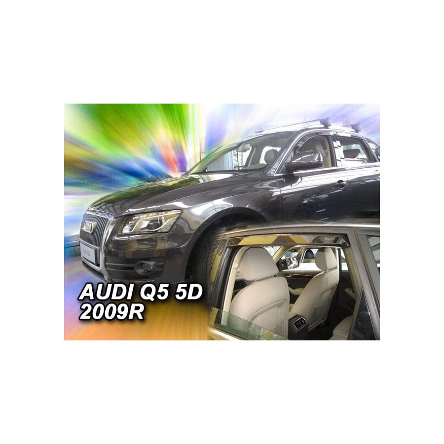 Vėjo deflektoriai AUDI Q5 2009-2016 (Priekinėms ir galinėms durims)