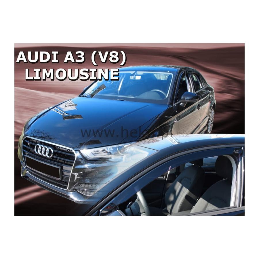 Vėjo deflektoriai AUDI A3 (8V) Sedan 2013→ (Priekinėms durims)